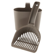 Grreat Choice(tm) Cat Litter Scoop and Caddy