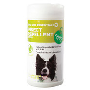 Dog Essentials Insect Repellent Wipes for Dogs