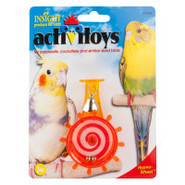 Insight Activitoys Hypno-Wheel Toy for Small Birds