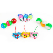 Grreat Choice 12 Piece Assorted Cat Toys
