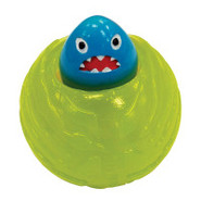 Nylabone Hunt &amp; Play Peek-a-Boo Tiger/Shark Ball C