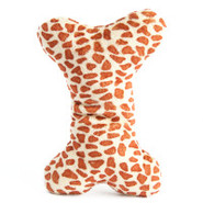 ToyShoppe Safari Plush Bone Dog Toy