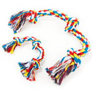 Grreat Choice 3-Knot Rope Tug Dog Toy