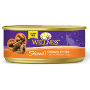 Wellness Can Cuts Sliced Entre Cat Food