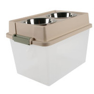 Iris Elevated Pet Feeders and Storage