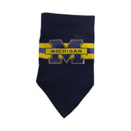 Michigan Wolverines Official Dog Collar Bandana