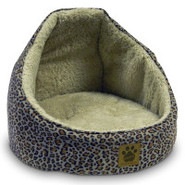 Precision Pet Suede Hooded Pet Bed