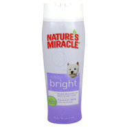 NATURE'S MIRACLE White Bright Shampoo for Dogs
