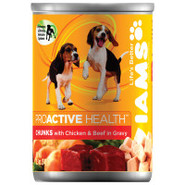 Iams Chunks for Puppies Canned Food