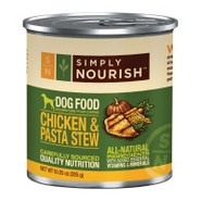 Simply Nourish Chicken &amp; Pasta Stew Dog Food