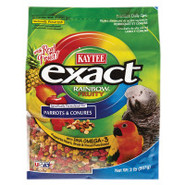 KAYTEE exact Rainbow Fruity Food for Parrots and C