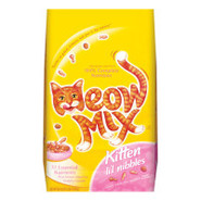 Meow Mix Kitten Li'l Nibbles Kitten Food
