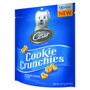 cesar Cookie Crunchies Rotisserie Chicken Dog Trea