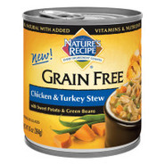 Nature&#39;s Recipe Grain-Free Natural Chicken &amp; Turke