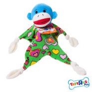 Toys  R  Us&reg Pets Monkey Blankie Dog Toy