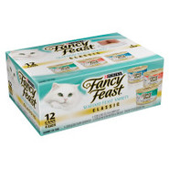 Fancy Feast Classic Seafood Feast Gourmet Cat Food