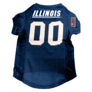 Illinois Fighting Illini Premium Pet Football Jers