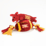 Pets First USC Trojans Plush Collegiate Dog Toys