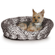 K&amp;H Self Warming Nuzzle Nest Pet Bed