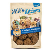 Milo's Kitchen Homestyle Chicken Meatballs Dog Tre