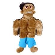 Plush Puppies Squeaker Mat Tuff Guy Tony Dog Toy