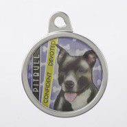 TagWorks Personalized Breed Dome Pet Tag