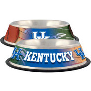 Kentucky Wildcats Stainless Steel Pet Bowl