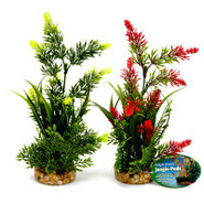 Penn-Plax Aqua-Plant Jungle-Pods with Flowers and