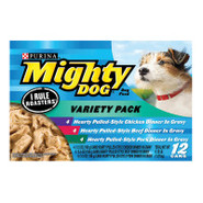 Purina Mighty Dog I Rule Roasters Variety Pack