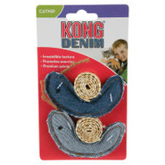 KONG for Cats Denim Snail Toy