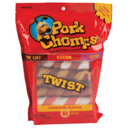 Scott Pork Chomps Twist Dog Treats