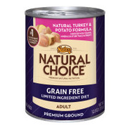Nutro Natural Choice Grain Free Adult Natural Turk
