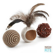 Martha Stewart Pets  Assorted Naturals 3 pk balls