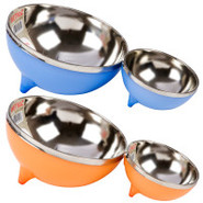 Wetnoz Metro Scoop n' Serve Stainless Steel Dog Bo