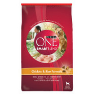 Purina ONE brand SmartBLEND Chicken & Rice Formula
