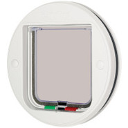 Cat Mate Glass Fitting 4-Way Locking Cat Flap