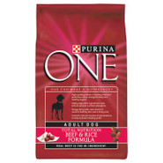 Purina ONE Beef & Rice Formula Dog Food
