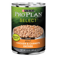Purina PRO PLAN Seared Chicken, Julienne Carrots &amp;