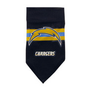 San Diego Chargers Dog Collar Bandana