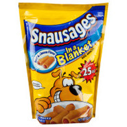 Snausages In A Blanket Beef & Cheese Flavored Dog