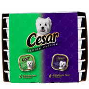 cesar&reg Dog Food Multipack 12 Count
