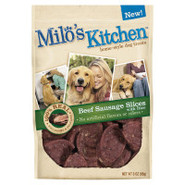 Milo's Kitchen Home-Style Beef Sausage Slices with