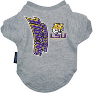 LSU Tigers Logo Pet T-Shirt