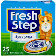 Fresh Step Scoopable Clumping Cat Litter with Odor