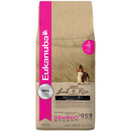 Eukanuba Adult Natural Lamb & Rice Formula Dog Foo