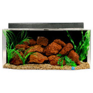 SeaClear 26 Gallon Flat Back Hexagon Tank and Hood