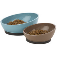 Top Paw Plastic Contempo Modern Bowl