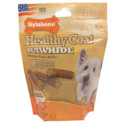 Nylabone USA Healthy Coat Rawhides