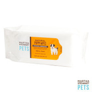 Martha Stewart Pets Natural Puppy Wipes Soft Pak R