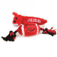 Pets First Arkansas Razorbacks Plush Collegiate Do